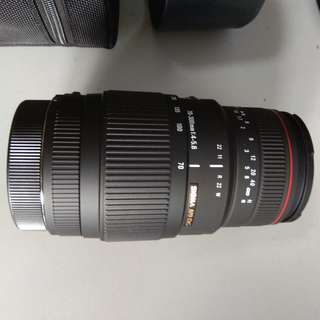 SIGMA AP070-300mm F4-5.6 DGMACRO Lens for Canon