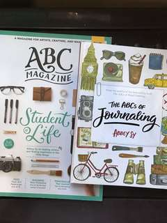 Abbey Sy Book Bundle (ABC magazine + ABC's of Journaling)