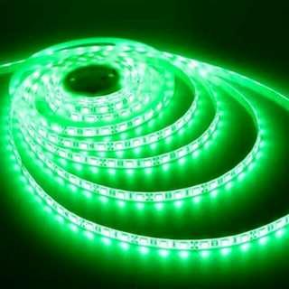 GREEN L.E.D. Lights (per 5 meter roll)