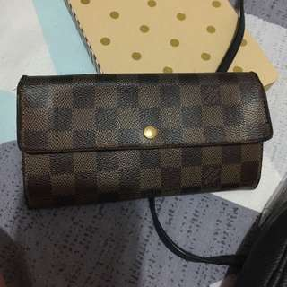 SALE!! Authentic Louis Vuitton Damier Ebene Wallet