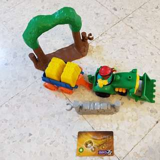 Little people farm tractor