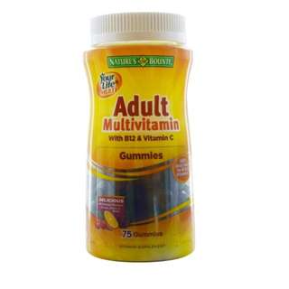 Nature's Bounty, Multivitamin Gummies with B12 & Vitamin C