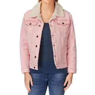 Afends pink jacket