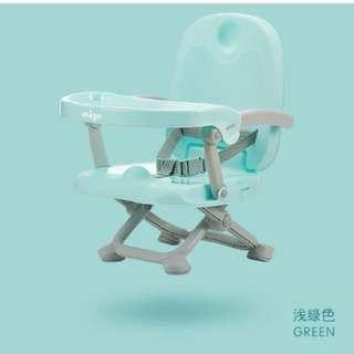 全新mige 多功能手提式小童餐椅