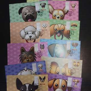Year of the Dog Postcards (SG)