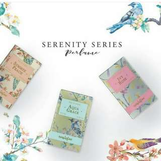 Our Serenity Series feature three distinctive fragrance (3 in 1) by NAELOFAR HIJAB