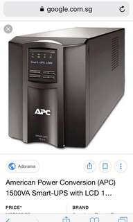 UPS APC Smart-UPS 1500VA with LCD display 230V