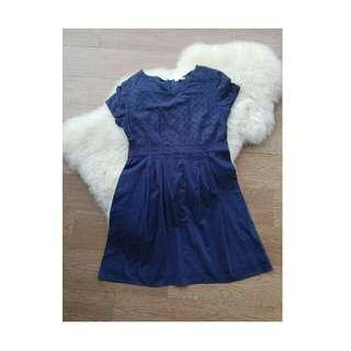 Ubiqlo Navy Dress