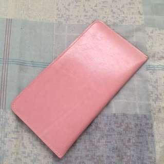 British retro elegance wallet (pink)