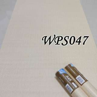 WPS047- CREAM N GOLD STRIP