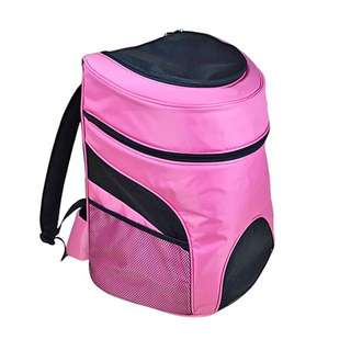 Large sized *pink* pet carrier backpack