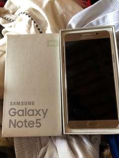 Samsung galaxy note 5  64GB DUAL SIM
