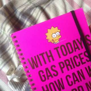 typo notebook a5