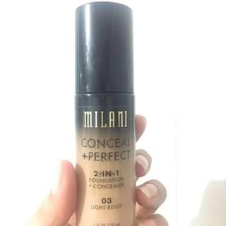 Preloved❤️ Milani conceal + perfect fondation