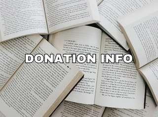 Donation Info 😊