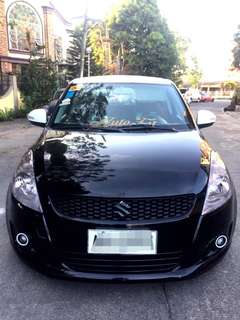 2015 Suzuki Swift 1.2L M/T Black Fully Loaded