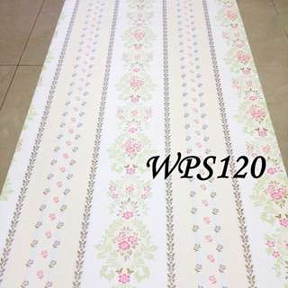 WPS120 - CREAM PASTEL N LINE FLOWER