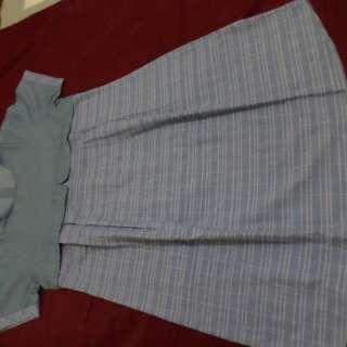 Baju Bumil Denim