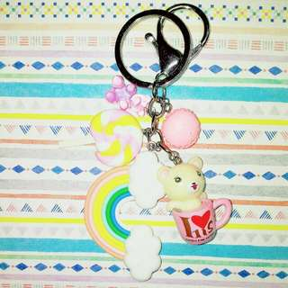 Customised / Handmade Korilakkuma Keychain / Bag Charm