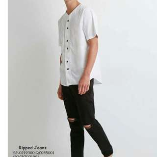 Ripped jeans size : 28-36