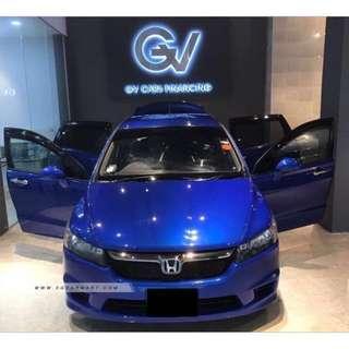 Honda Stream 1.8A RSZ (COE Till 25 Apr 2022)
