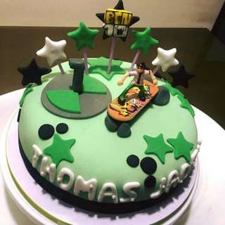 Customized cakes and pastries