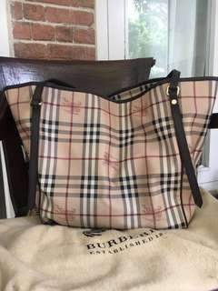 BURBERRY TOTE BAG PRELOVED (AUTHENTIC / ASLI)