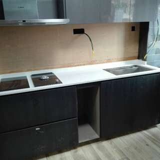 Carpentry installation, Quartz, Granite and Onyx