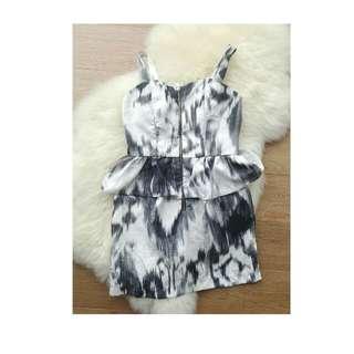 Peplum Dress Charlotte Russe