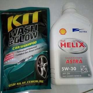 Oli Shell helix Astra 5w-30