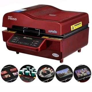 🥇No 1 3D Sublimation Vacuum Heat Transfer Press Printer Machine ST-3042