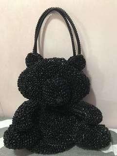 Anteprima bag (黑熊造型袋)