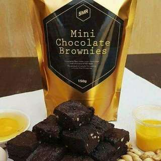 SMR Mini Chocolate Brownies