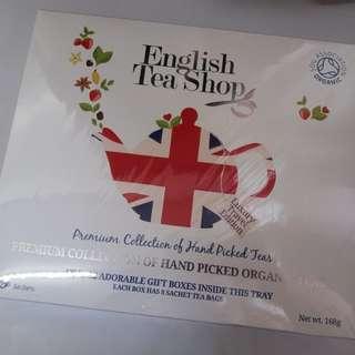全新英國有機茶包(限量版)