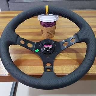 Juran Racing Steering Wheel (Tanida Motorsports)