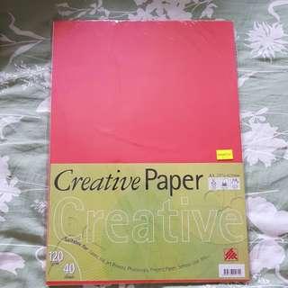 Colour paper A3
