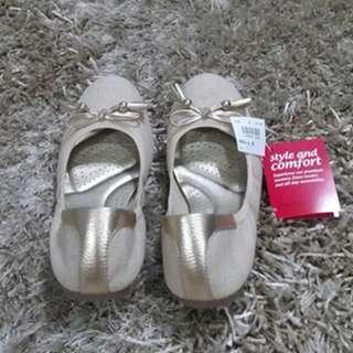 Deflex Comfort Gold Ballerina NEW