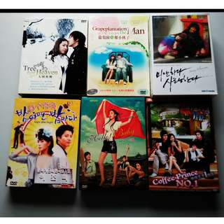 DVDs and VCDs for low price: Korean shows and 蜡笔小新