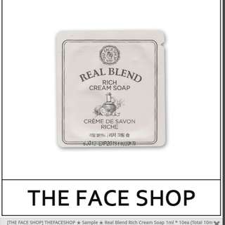 The Face Shop : Real Blend Rich Cream Soap