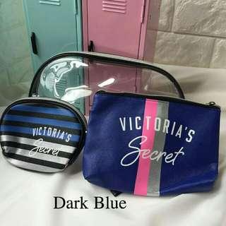 VICTORIA'S SECRET 3IN1 MAKEUP BAG