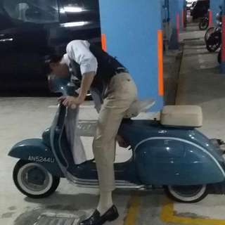 Model Super Vespa AN