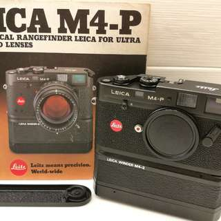 Leica M4-P + Leica Winder