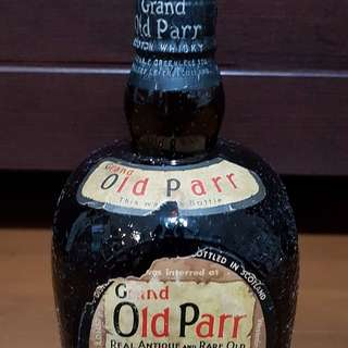 Grand Old Parr De Luxe Scotch Whisky 1950s