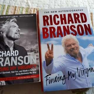 Losing My Virginity and Finding My Virginity by Sir Richard Branson