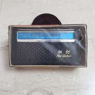 China red lantern transistor radio from 70s
