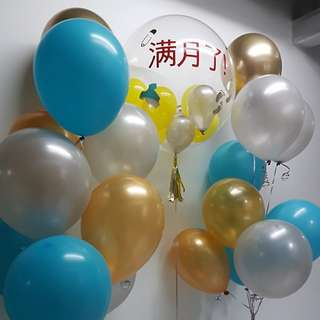 Chinese Words Customised Balloon Bouquet
