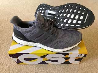 Ultraboost 3.0 - Mystery Grey (Deadstock, Mens US10.5)