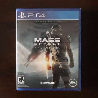 Brand New Deluxe Edition PS4 Mass Effect Andromeda
