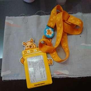 Winnie the Pooh mrt with lanyard