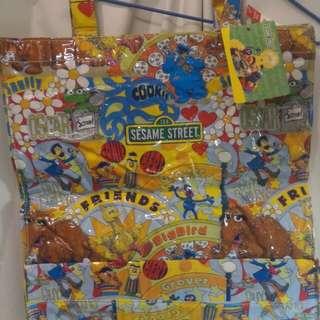 Sesame Street x Bossini 手挽袋